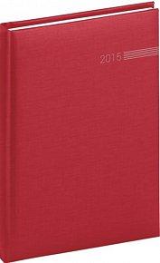 Diář 2015 - Capys - Týdenní A5, červená (CZ, SK, GB, DE)