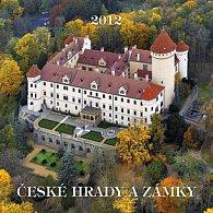 Kalendář 2012 - České hrady a zámky - nástěnný