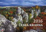 Kalendář nástěnný 2016 - Česká krajina