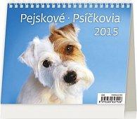 Kalendář stolní 2015 - MiniMax Pejskové