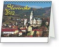 Slovensko - stolní kalendář 2012