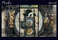 Kalenář nástěnný 2012 - Praha Exclusive, 48 x 33 cm