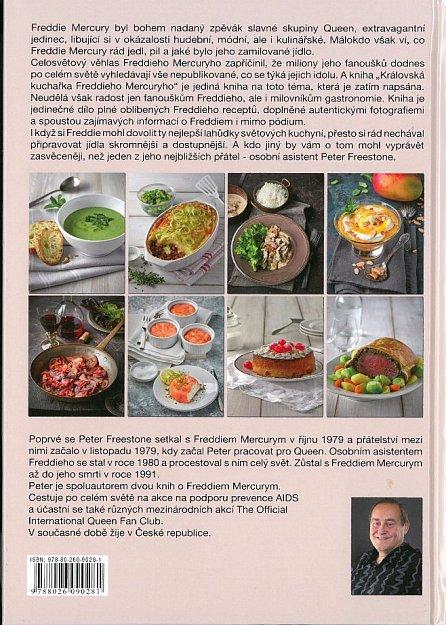 Náhled Královská kuchařka Freddieho Mercuryho - Více než 100 receptů