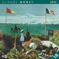 Kalendář nástěnný 2012 - Claude Monet, 30 x 60 cm