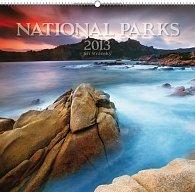 Kalendář 2013 nástěnný - Národní parky Jiří Stránský, 48 x 46 cm