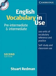 English Vocabulary in Use: Pre-Intermediate and Intermediate: Edition with answers and CD-ROM Pack