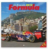Kalendář 2015 - Formule Jiří Křenek - nástěnný (CZ, SK, HU, PL, RU, GB)