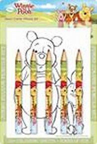 Medvídek Pú - Maxi pastelky - omalovánky