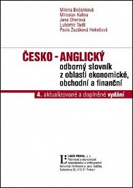Česko - anglický odborný slovník z oblasti ekonomické, obchodní a finanční