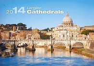 Kalendář 2014 - Largest Cathedrals - nástěnný