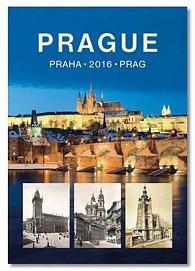 Kalendář Prague / Praha / Prag 2016 - nástěnný