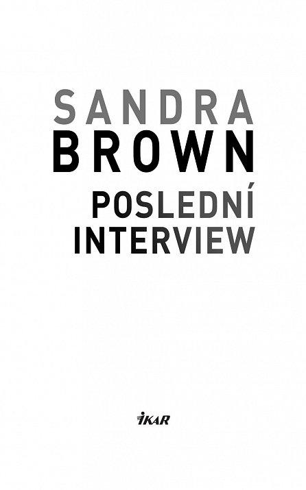 Náhled Poslední interview
