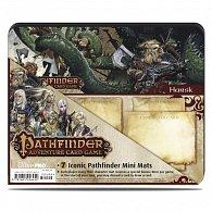 Art: Pathfinder Iconic Characters - 7 Pack Mini Mats - hrací podložky