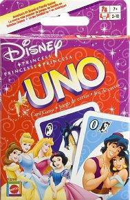 Mattel UNO Disney princezny