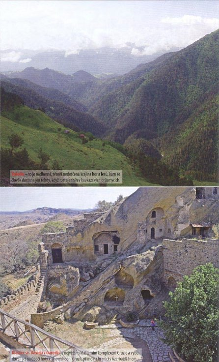 Náhled Gruzie - Turistický průvodce