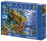 Puzzle Magic 3D 1000 dílků Dinosaur Valley