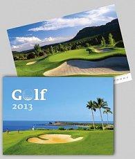 Golf - nástěnný kalendář 2013