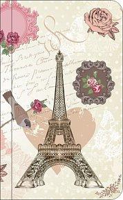 Bloček Eiffell vintage