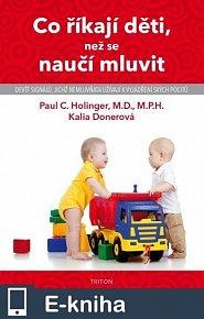 Co říkají děti, než se naučí mluvit - 2. vydání (E-KNIHA)