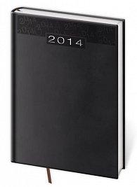 Diář 2014 - denní A5 Print - černá