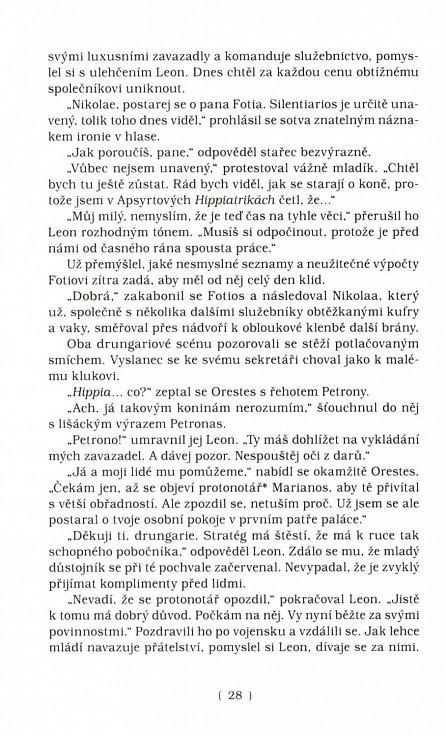 Náhled Ebenová loutna - Historická detektivka z prostředí byzantské říše