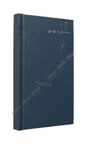 Diář 2015 - Kronos modrý - matný   kapes