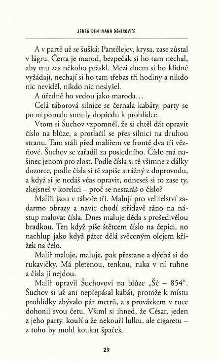 Náhled Jeden den Ivana Děnisoviče