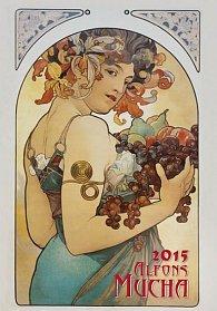 Kalendář nástěnný 2015 - Alfons Mucha