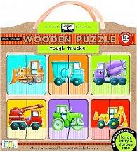 Tough Trucks Wood Puzzle