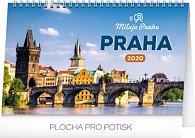 Kalendář stolní 2020 - Praha – Miluju Prahu, 23,1 × 14,5 cm