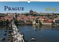 Kalendář 2014 - Praha 18měsíční - nástěnný