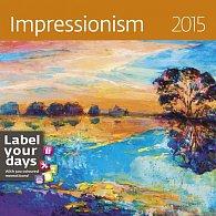 Kalendář nástěnný 2015 - Impressionism