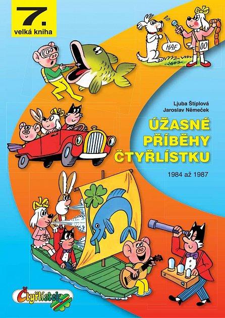Náhled Úžasné příběhy Čtyřlístku z let 1984 až 1987 - 7. velká kniha