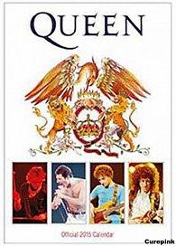 Kalendář 2015 - Queen bílý (297x420)
