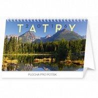 Tatry - stolový kalendár 2016