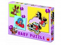 Baby Puzzle Krteček