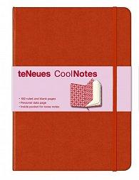 Zápisník CoolNotes Red/Argyle Rose velký