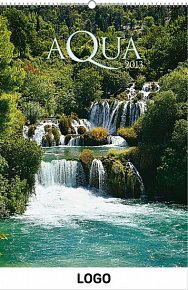 Kalendář 2013 - Aqua praktik, 30 x 34 cm