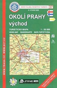 KČT 37 - Okolí Prahy - východ