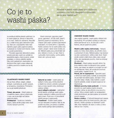 Náhled Washi pásky - 101 skvělých nápadů na zdobení japonskou dekorativní páskou