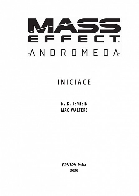 Náhled Mass Effect Andromeda 2 - Iniciace