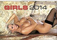 Kalendář 2014 - Girls In Flagranti - nástěnný