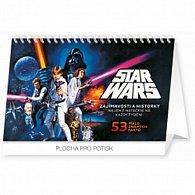 Kalendář stolní 2016 - Star Wars Classic,  23,1 x 14,5 cm