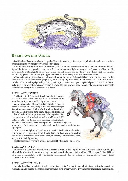 Náhled O strašidlech a bytostech z pohádek a pověstí - Tradice a zvykosloví, pohádky, lidová říkadla, hádanky, básničky, hry a výrobky