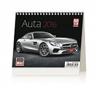 Kalendář stolní 2016 - MiniMax - Auta