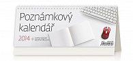 Kalendář 2014 - Poznámkový kalendář - stolní