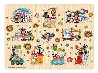 Puzzle Malá čarodějnice + Štaflík a Špagetka