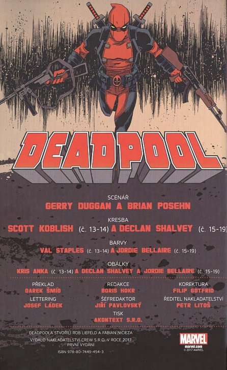 0de9ad042 Kniha Deadpool 3 - hodný, zlý, ošklivý - Brian Posehn, Gerry Duggan ...