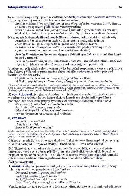 Náhled Školní pravidla českého pravopisu… do každé aktovky