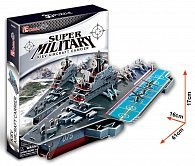 Puzzle 3D Letadlová loď - 103 dílků